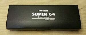 Hohner Super 64 Chromonica in The Key Of C mint condition 7582/82 harmonica