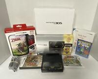 NEAR MINT Nintendo 3DS Zelda 25th Anniversary Edition 32GB Console Bundle