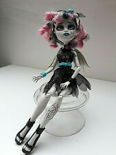 monster high doll Rochelle Goyle Zombie Shake dress shoes headband wings