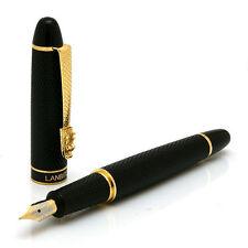 LANBITOU 273 Carved Medium Nib Fountain Pen Black new