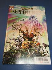 Conan Serpent War #4 Moon Knight NM Gem Wow