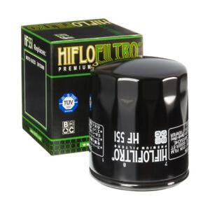 FILTRE HUILE HIFLOFILTRO HF551 Moto Guzzi 850 T5 1989 < 2005