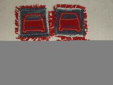 Cotton Blend Vintage/Retro Coasters