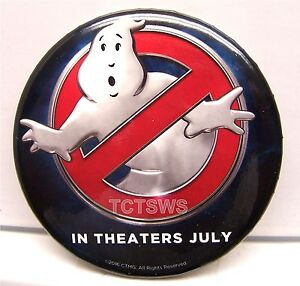 Promo Button - GHOSTBUSTERS Button - In Theaters July - Limited Edition