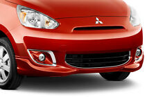 2015 GENUINE MITSUBISHI MIRAGE FRONT BUMPER LOWER GRILLE CHROME TRIM MZ330456