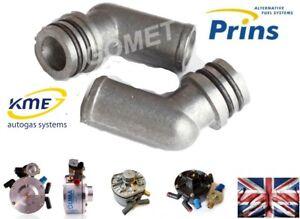 19-16mm 2X METAL ELBOWS Water coolant for KME PRINS VSI LPG Reducer Ø16 / Ø19