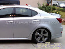 06-12 Lexus IS250 IS350 Factory Painted 1G1 Silver Roof Lip Wing Trunk Spoiler