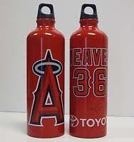Angels Baseball Jered Weaver Water Bottle 5/14/2012 SGA - New