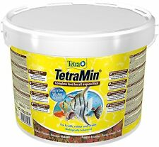 GENUINE TETRAMIN 2100G SEALED BUCKET  TROPICAL FISH FOOD FLAKES
