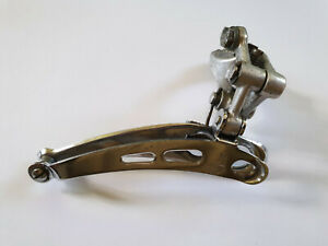 Campagnolo record front derailleur for a racing bicycle, vintage 1985