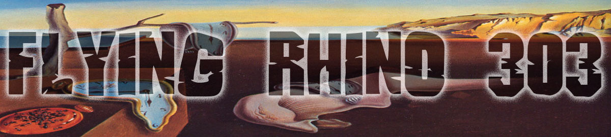 Flying Rhino: Art Slides and Prints