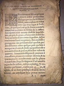 STATUTS DE LA COMTE DE VENAISCIN (Les), Avec les jours feriatz d'Avignon.1558.