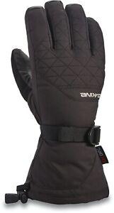 Dakine Womens Ski Snowboard Gloves - Leather Camino - Black - Medium - RRP £55