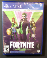 Fortnite The Last Laugh Bundle [ Code in Case ] (PS4) NEW