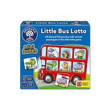 Orchard Toys 355 Little Bus LOTTO Game. Included