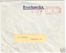 Postfreistempel, Berlin W 8, 4.6.25