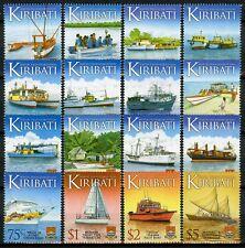 More details for kiribati ships stamps 2013 mnh water transport transportation defin 16v set