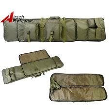 "47"" Tactical Soft Padded Rifle Shotgun Bag Gun Case Storage Airsoft Hunting OD"