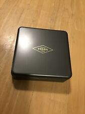 Fossil Watch EMPTY Tin - 2018