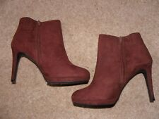 BNWT Insolia Heeled Ankle Boots by Marks and Spencer in Size UK6.5 Wider Fit £40