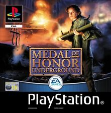 Medal of Honor: Underground (PS1) VGC With Manual