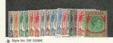 Straits Settlements, Postage Stamp, #238//252 (Miss 241, 247) Mint Hinged, JFZ