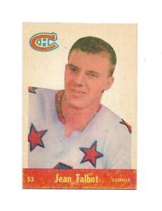 1955-56 Parkhurst:#53 Jean Talbot,Canadiens RC