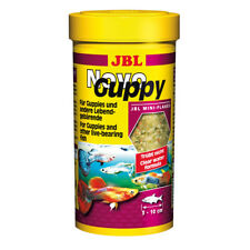 JBL NovoGuppy 250 ml, Hauptfutter für Lebendgebärende z. B. Guppys