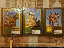 KARL MAY Collection 1 + 2 + 3 - 3 DVD BOXEN NEU!!! Winnetou 1,2,3, Der Ölprinz,.