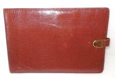 Vintage ARTEX Brown Genuine Buffalo Calf Passport / Travel Wallet