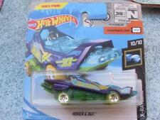 Hot Wheels 2018 #257/365 Hover & Out Viola e Verde X-Raycers Nuovo Casting 2018