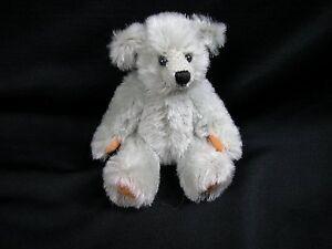 """World of Miniature Bears 5"""" Mohair Bear Millennia-2002 #2002 Collectible Bear"""
