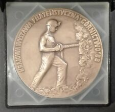 POLAND STAMPS Medal of the Exhibition 20 years Kopasyny - Mining - Rybnik, 1988