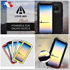 Etui Coque Antichocs incassable LOVE MEI Shockproof Case Samsung Galaxy Note 8