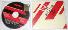 "U2 - ALL BECAUSE OF YOU ""1 Track Promo"" (2005) - CD Single.."