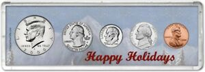 Happy Holidays Coin Gift Set, 2000