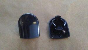 HHR H3 HUMMER CADILLAC ATS CTS DTS XLR WIPER ARM BOLT COVER CAP SET 2   22793593