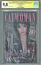 Catwoman 80th Anniversary 100pg Super Spectacular #1 CGC 9.8 SS KRS Sanders