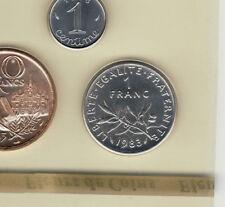 FDC toute neuve car  sous scellèe 1 FRANC SEMEUSE 1983cote 50 euro