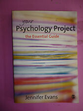 Your Psychology Project: The Essential Guide by Jennifer Evans (Paperback, 2007)