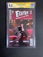 Elvira Mistress of the Dark #1 🔥 Photo Cvr CGC 9.2 SS Cassandra Peterson!