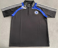 CHELSEA FC ADIDAS CFC 2008/2009 POLO SHIRT MENS LARGE
