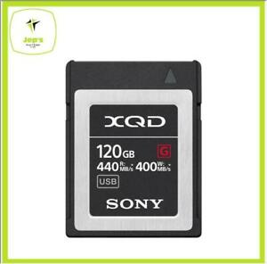 Sony XQD 120gb G Series Memody Card Brand New Jeptall