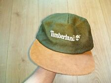 Timberland Authentic Real Suede Leather Mens Hat Cap Baseball Beanie Hype USA