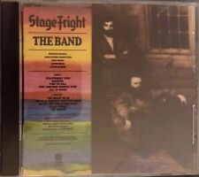 "THE BAND ""Stage Fright"" 24K Gold CD ULTRA RARE PROMO VG+ no scratches fr/sh & in"