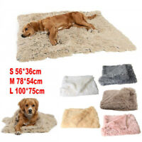 Puppy Plush Supplies Sleeping Cat Blanket Mat Puppy Dog Warm Bed