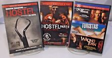 3 DVD Horror Movie Pack #8 Hostel, Hostel 2, Joy Ride, Turistas, Wrong Turn