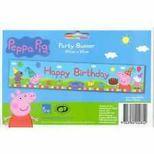 Peppa Pig Birthday Party Supplies Banner Party Decoration