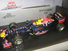 1:18 red bull renault rb8 2012 m. webber 110120002 Minichamps OVP New