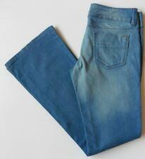 Women's Miss Selfridge Flared Jeans Size 10R Blue W29 L32 Flares Stretch Eur 36R